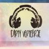 DV Headphones Logo Canvas